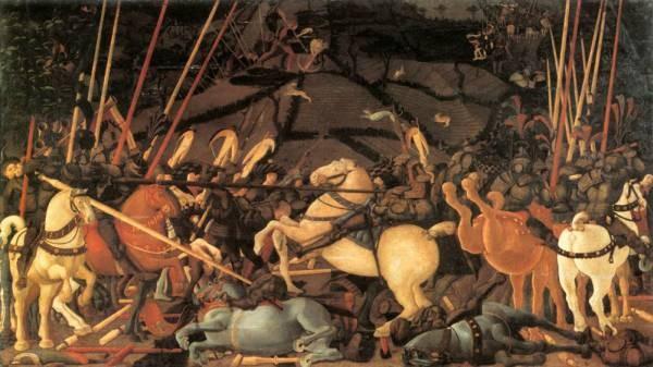 Bernardino Della Ciarda Thrown Off His Horse